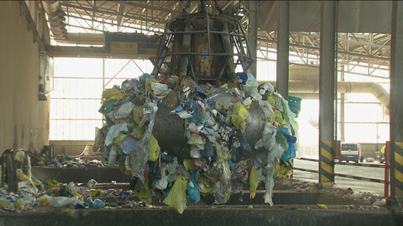 Reciclaje de residuos de basura