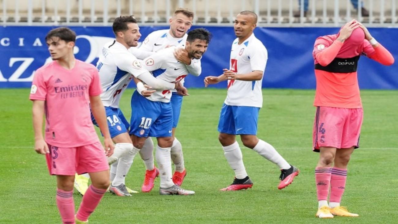 Rayo Majadahonda, colíder tras ganar in extremis al Castilla en partido aplazado