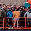 Salvamento traslada a Gran Canaria a 341 migrantes que viajaban en 9 pateras