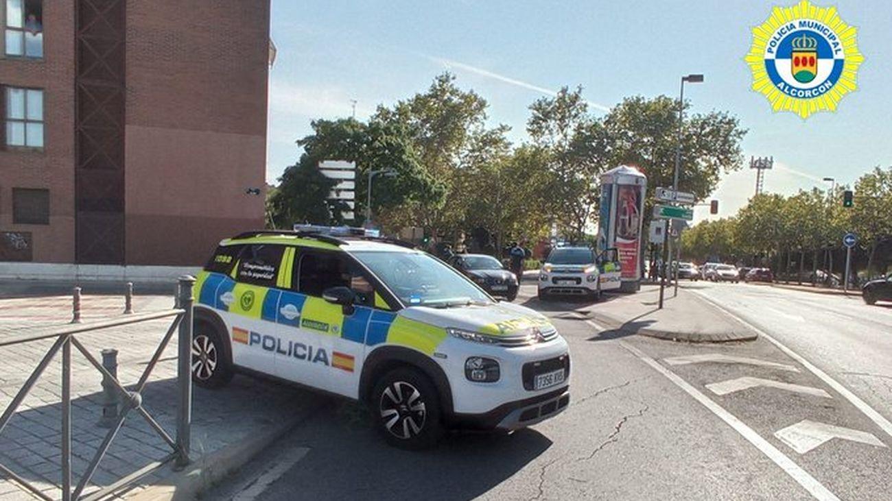 Vehículo de la Policía Municipal de Alcorcón
