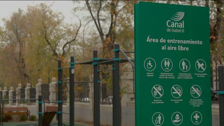 Nuevo parque en Bravo Murillocon más de 3.700 m2 de zonas verdes, infantiles y deportivas