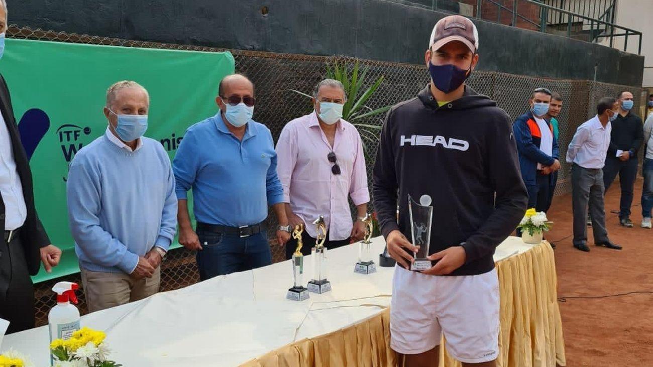 El madrileño Pedro Ródenas gana en El Cairo su primer título internacional júnior