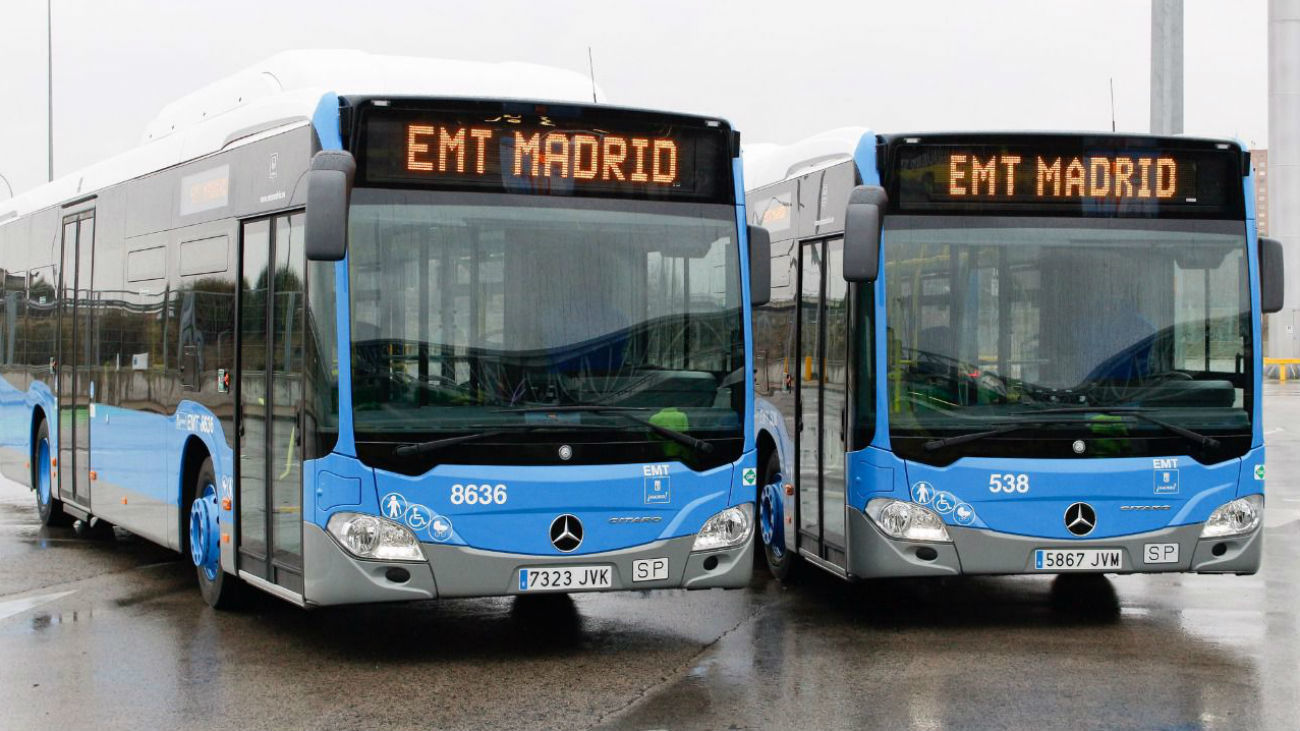 Autobuses de la EMT de Madrid