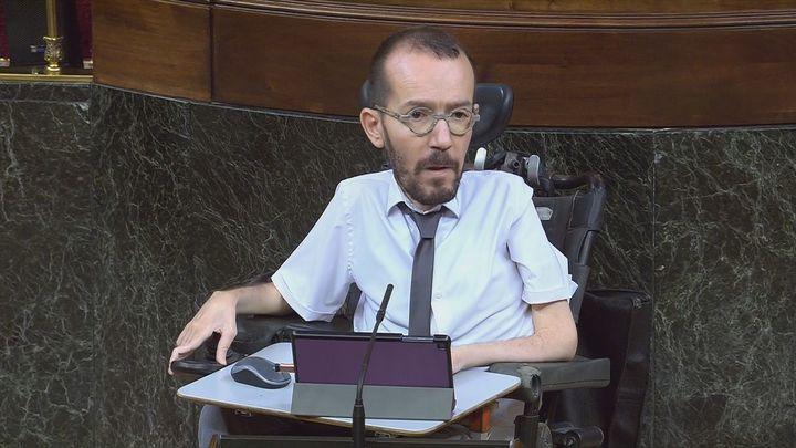 """Echenique critica que Felipe VI no haya """"condenado explícitamente las actividades corruptas"""" de Juan Carlos I"""