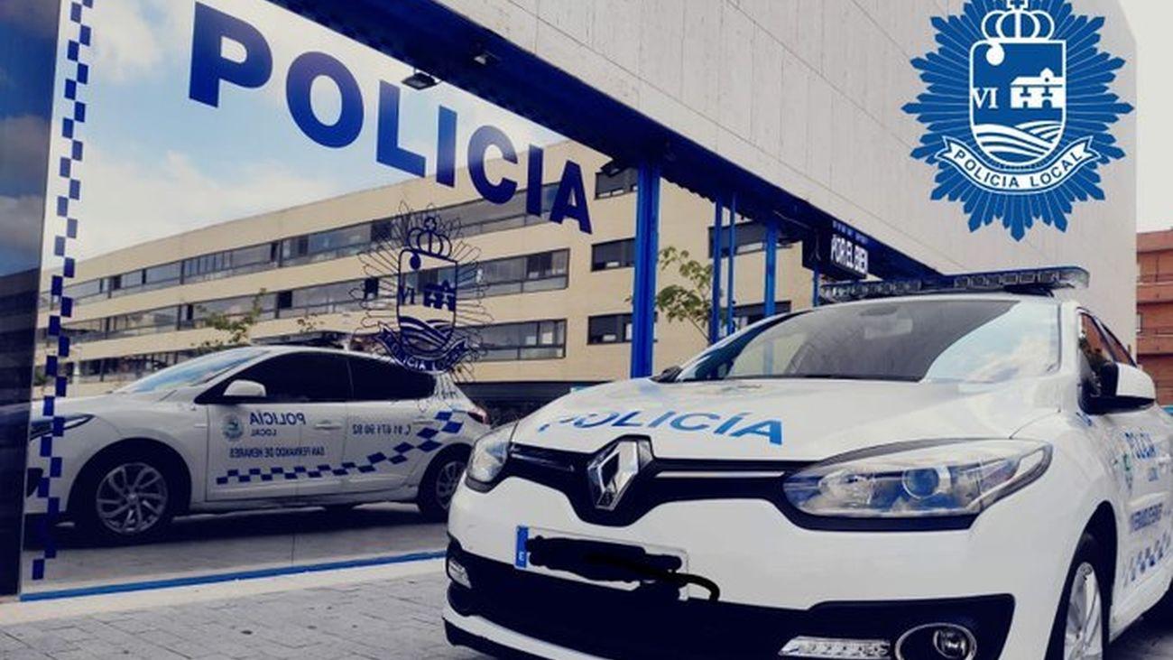 Vehículo de la Policía local de San Fernando de Henares