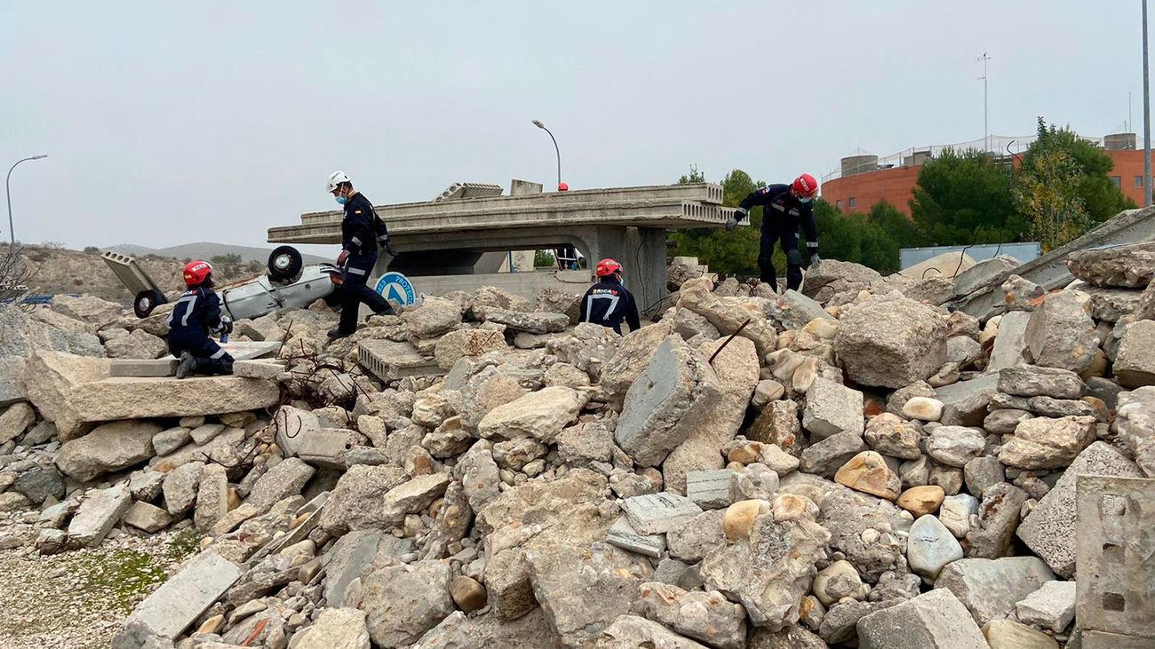 Así actuarían los servicios de emergencia ante un terremoto devastador en Madrid