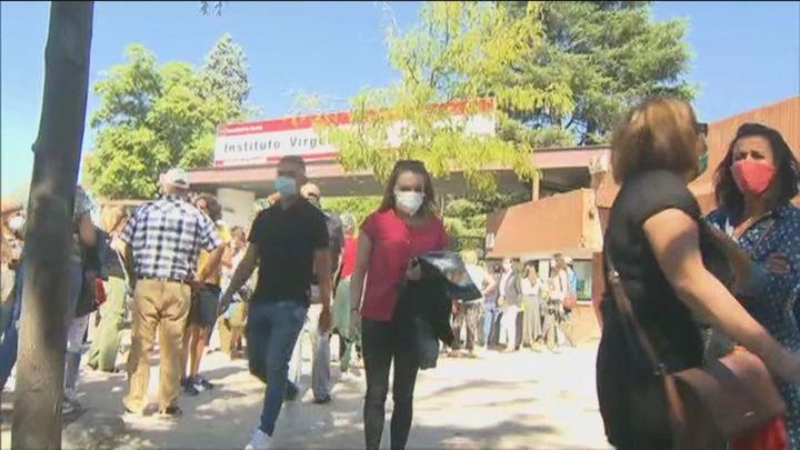 Bajan a 25.000 los alumnos en cuarentena y no hay ningún centro cerrado en la Comunidad de Madrid
