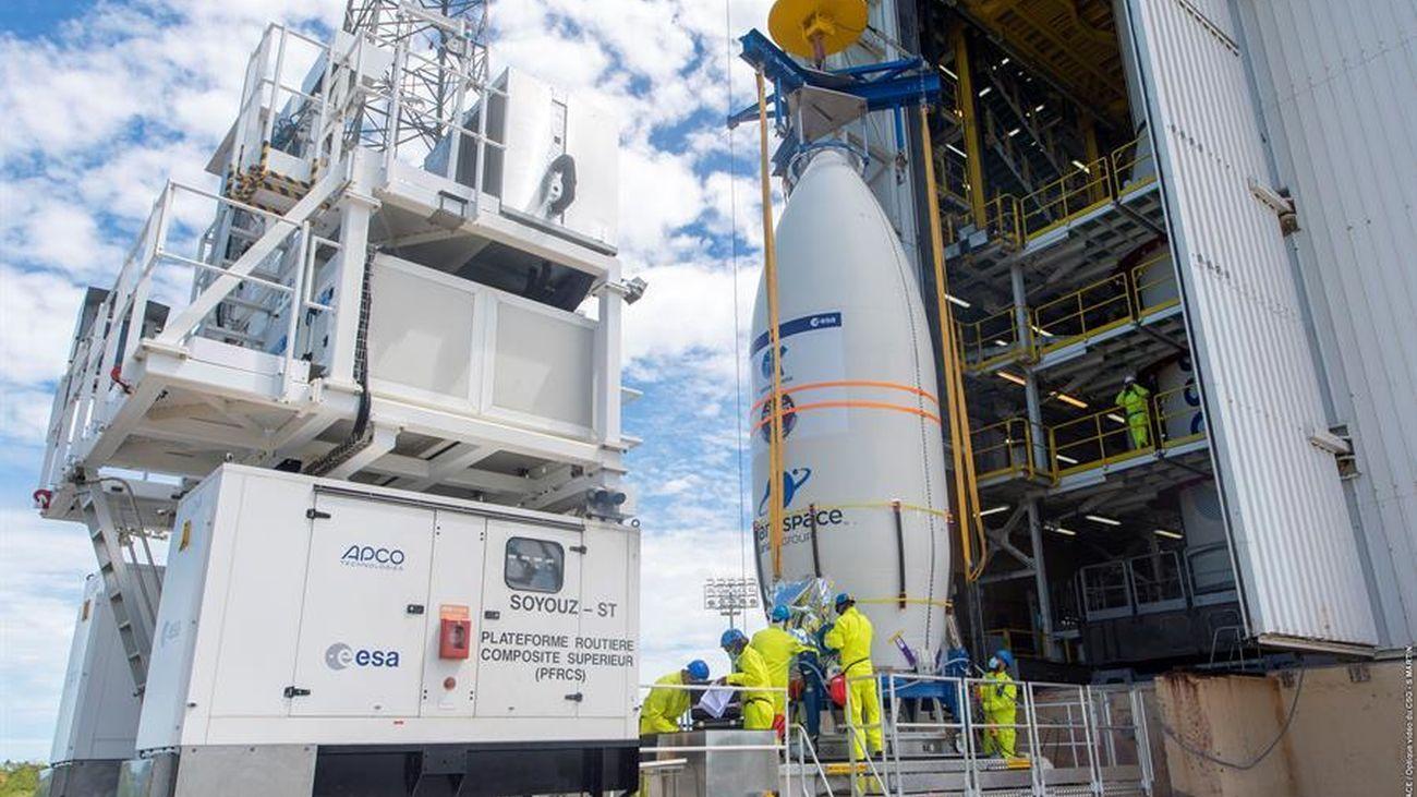 """Fracasa el lanzamiento del cohete con el satélite español 'Ingenio': """"La misión está perdida"""""""