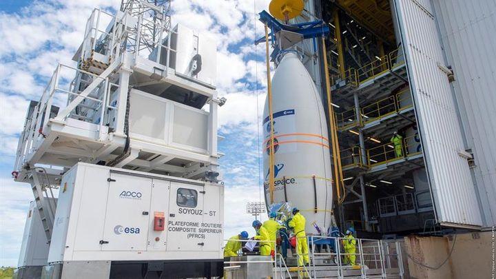 Un fallo de montaje del cohete Vega malogró el satélite español Ingenio