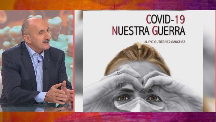 """Alipio Gutiérrez: """"El covid es una guerra, los medios no han contado toda la verdad"""""""