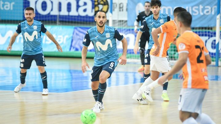 3-3. Movistar Inter se deja la victoria ante el Ribera Navarra