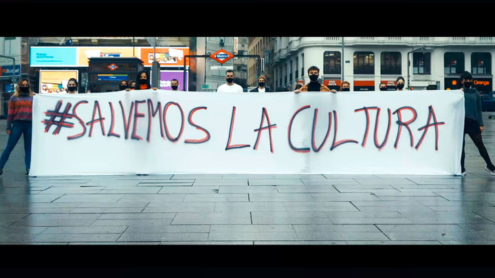 Artistas de musicales de Madrid realizan un video para invitar a los espectadores a volver a los teatros