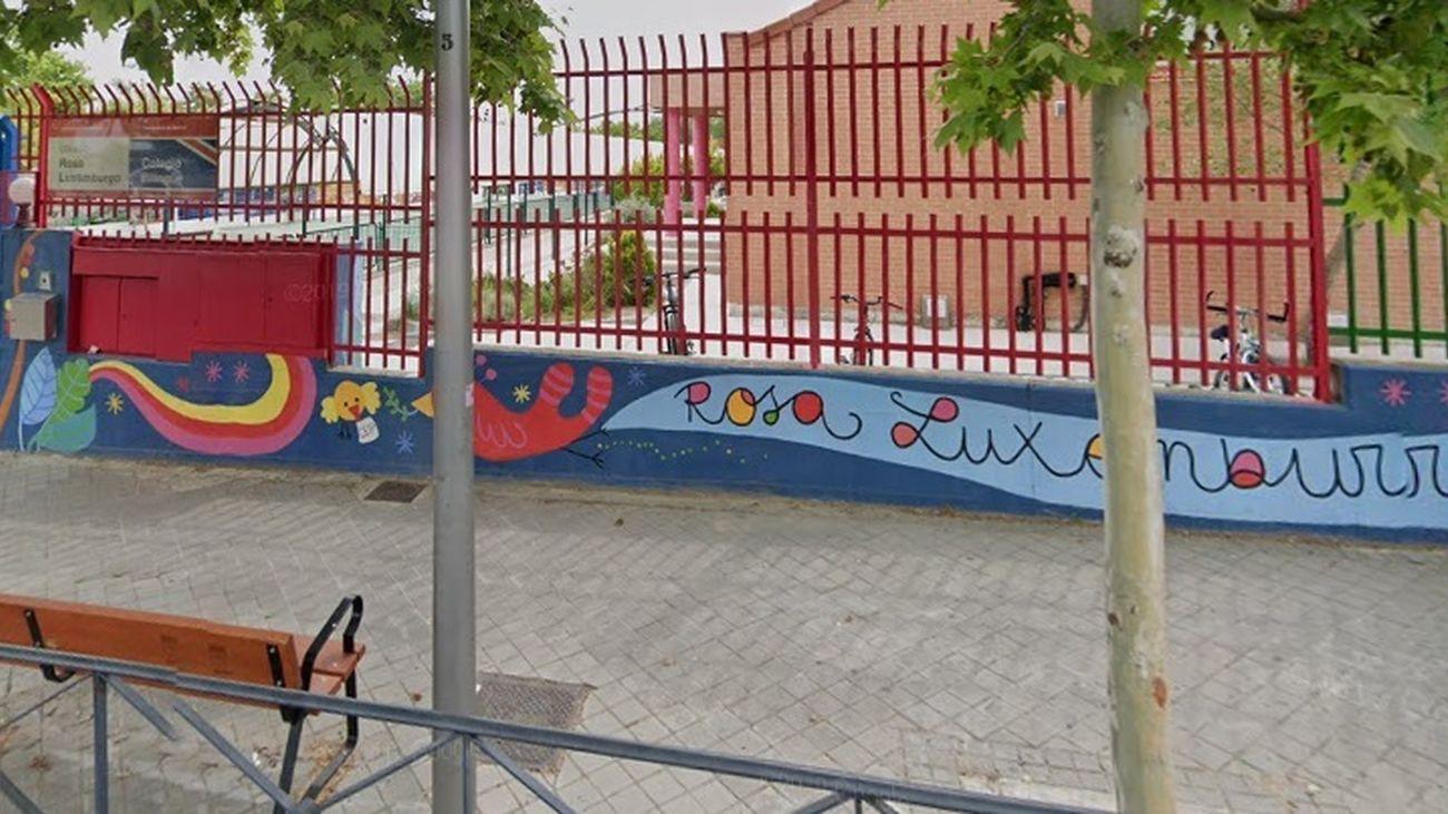 Exterior del colegio público Rosa Luxemburgo de Aravaca