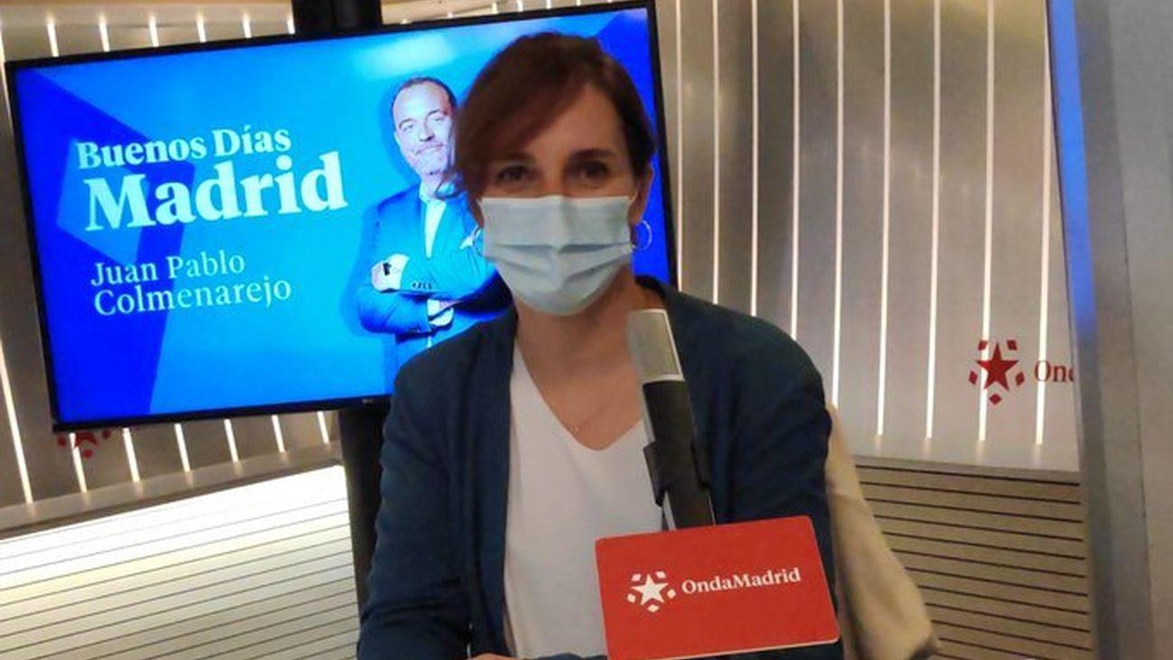 Mónica García, portavoz de Sanidad de Más Madrid en la Asamblea de Madrid
