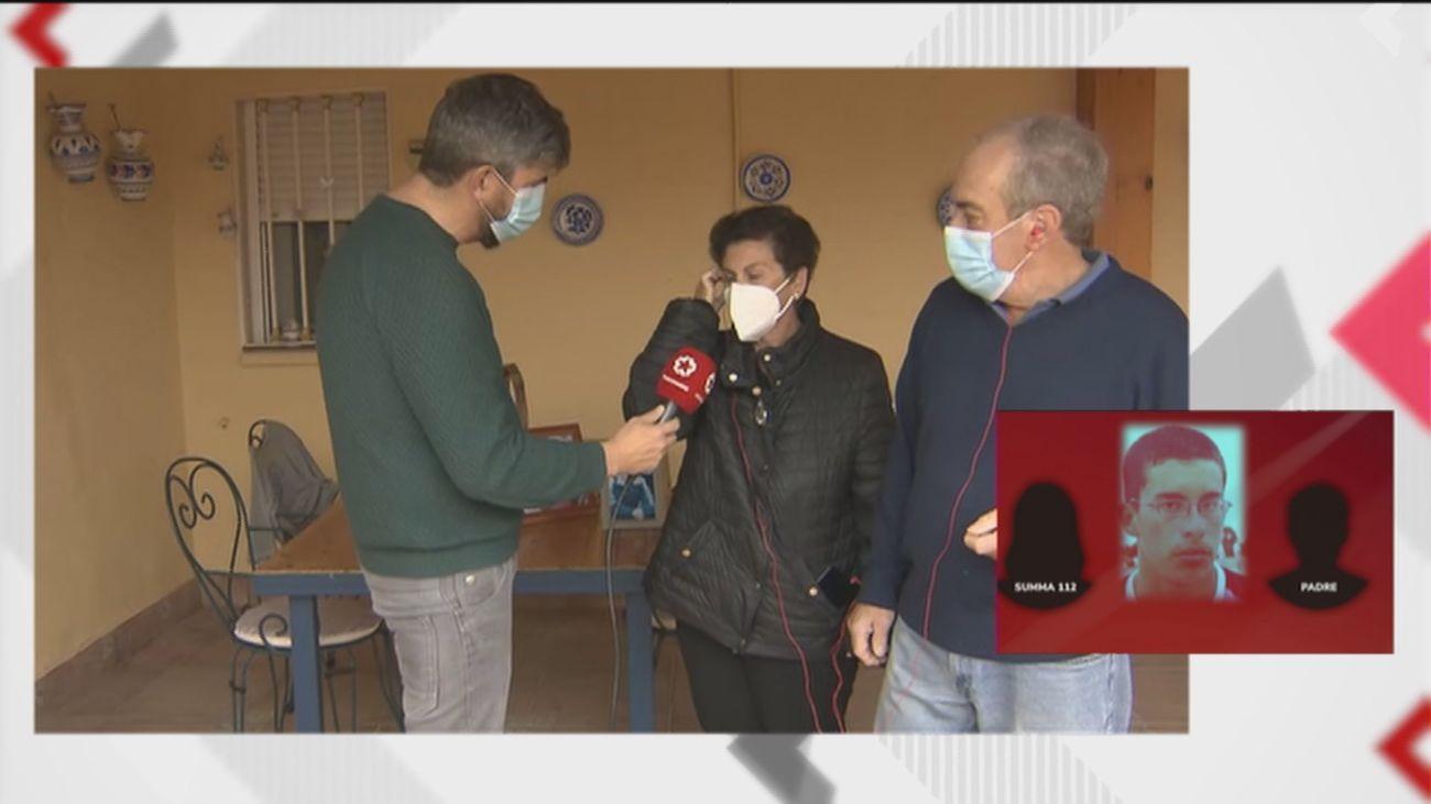 Los padres de Aitor reclaman justicia para su hijo muerto y critican al 112 de Madrid
