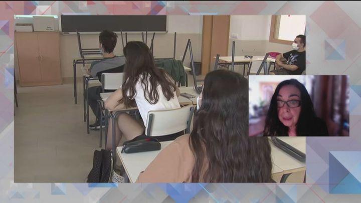"""Isabel Galvín (CCOO): """"Los profesores de refuerzo Covid han sido claves en los colegios de Madrid"""""""