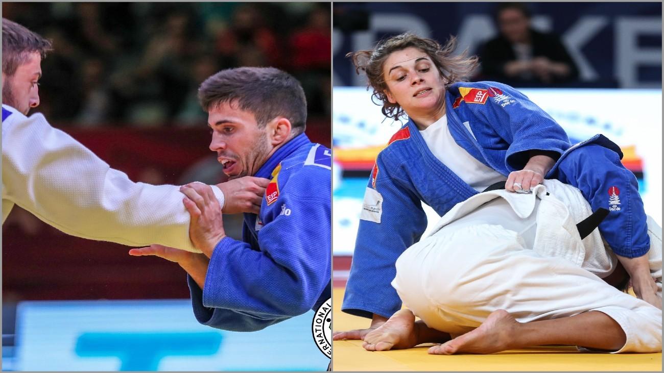 Los madrileños López Sheriff y Garrigós, bronces en el Europeo de judo