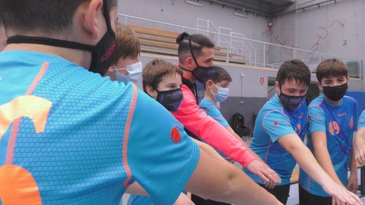 El balonmano madrileño celebra su Copa Burbuja