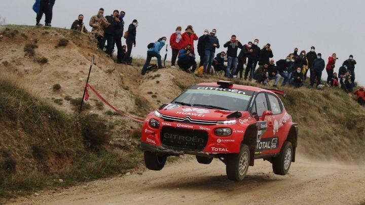 Pepe López gana el Rally de Tierra de Madrid
