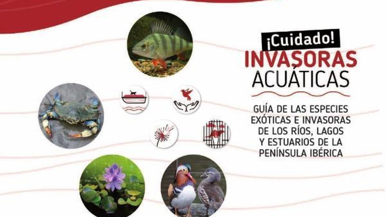 Una guía trilingüe ayuda a conocer las especies invasoras acuáticas ibéricas