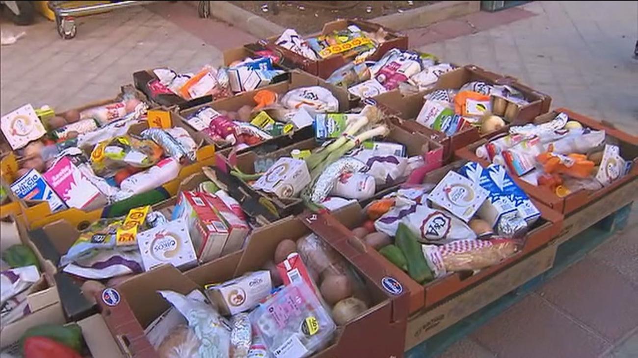 Las ayudas de alimentación en Madrid en noviembre, 10 veces por debajo de las de abril y mayo