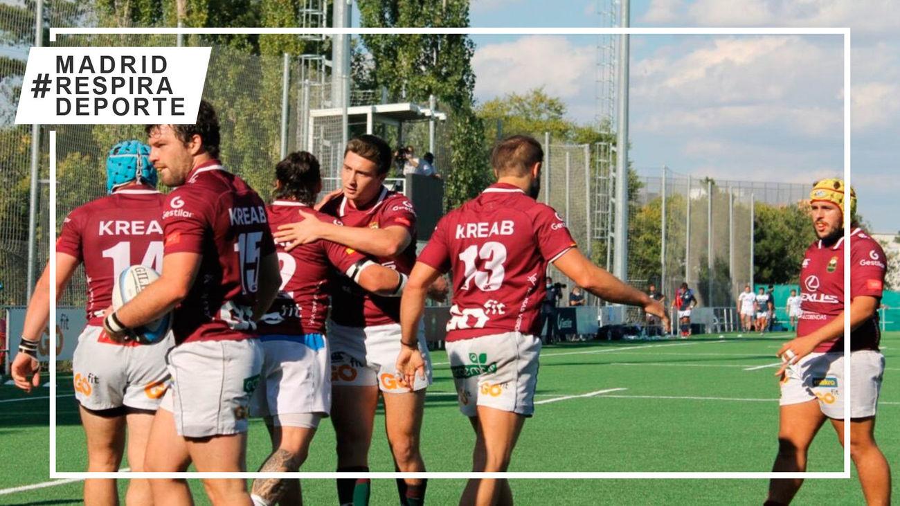Alcobendas Rugby defiende el liderato ante los rookies de la liga
