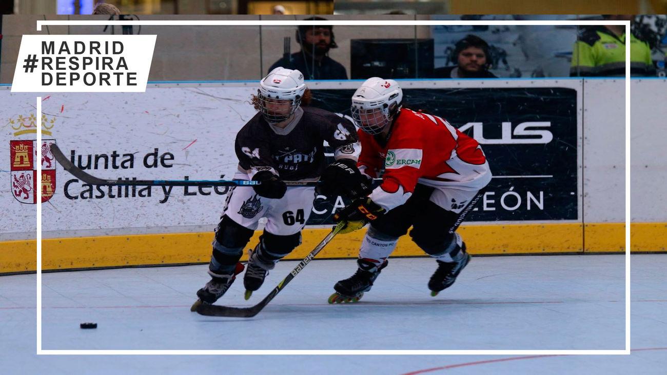 Tres Cantos quiere seguir al frente de la Liga Elite de hockey patines
