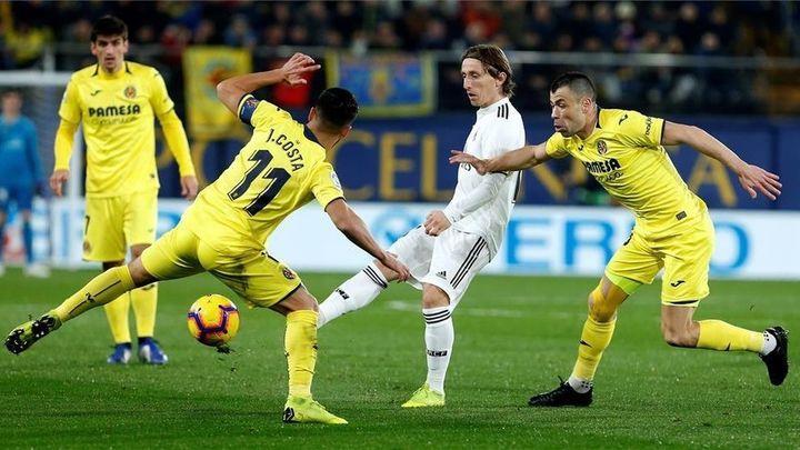 Un Real Madrid plagado de bajas se pone a prueba ante el Villarreal