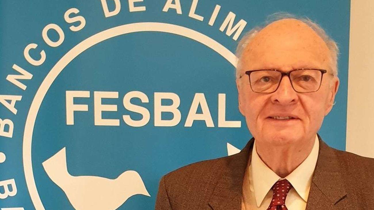 Juan Vicente Peral, presidente del Banco de Alimentos