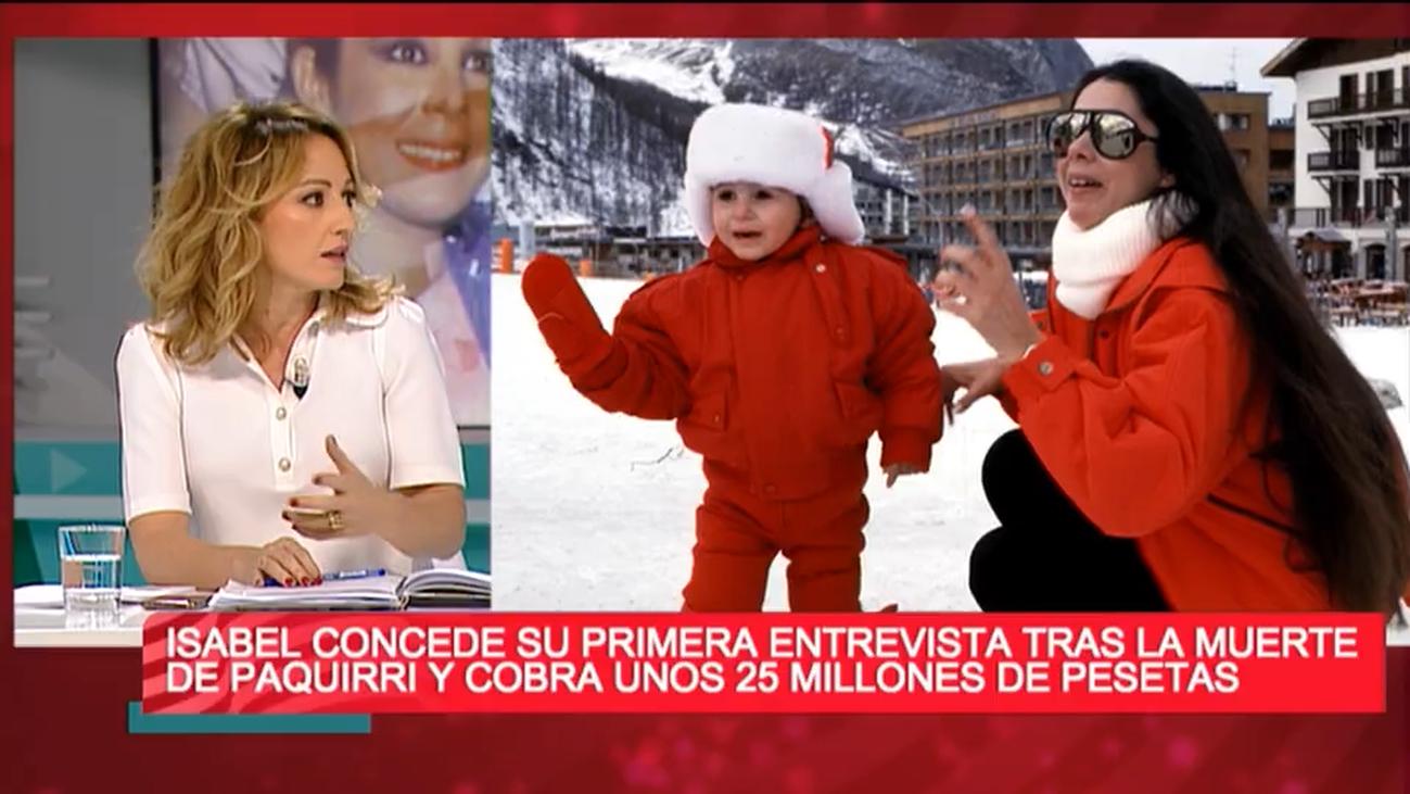 """Sandra Aladro: """"Pantoja le dijo a Kiko que, si salía con él en un reportaje, cobraba ella"""""""