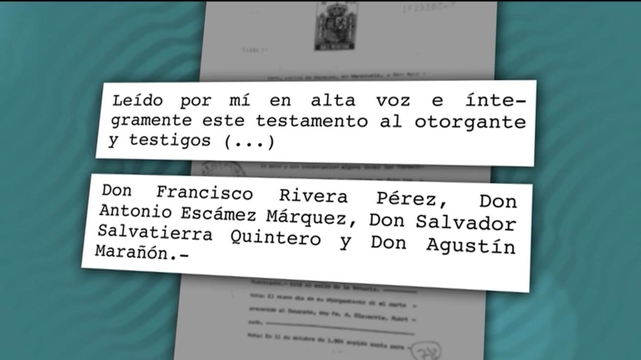 Un documento inédito revela que Isabel Pantoja no estuvo en la firma del testamento de Paquirri