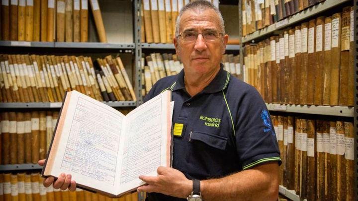 Juan Redondo relata cómo vivieron los bomberos de Madrid la Guerra Civil