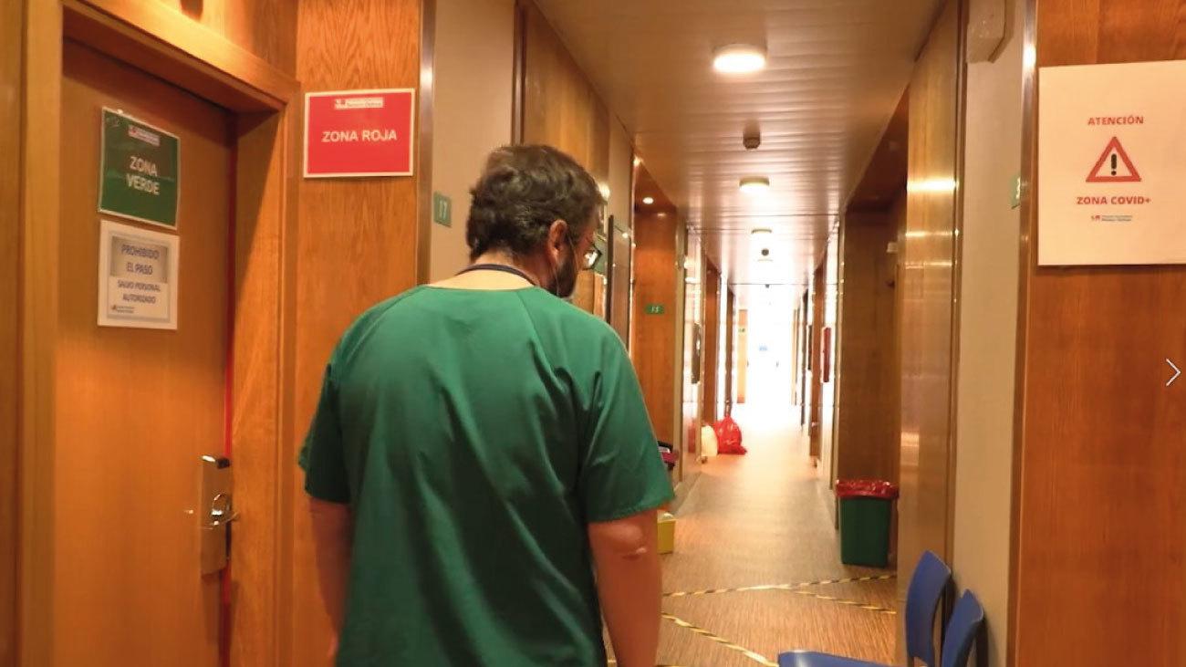 El día a día del hotel sanitarizado de Leganés