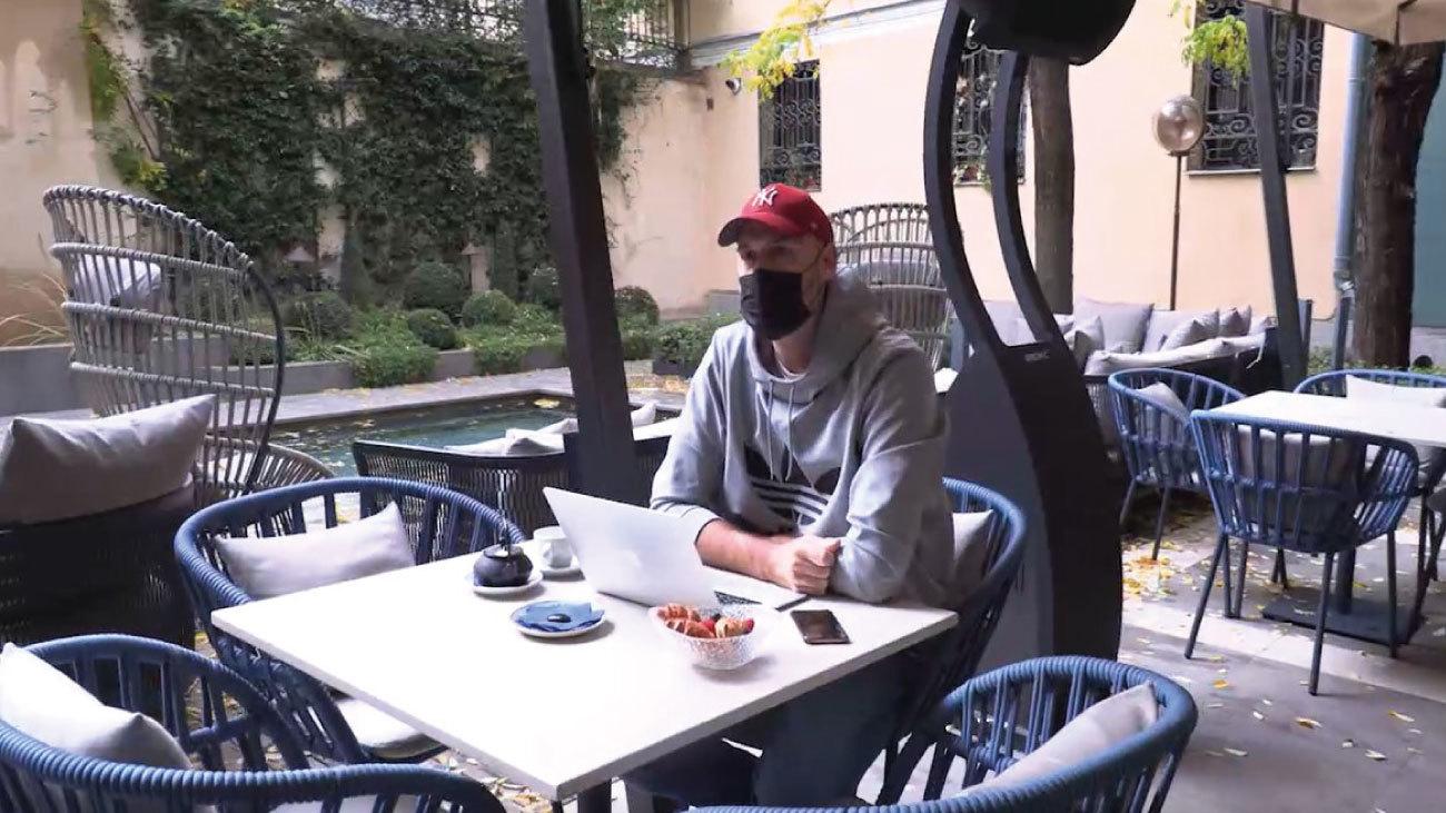 Teletrabajar en un hotel ya es parte de la 'nueva normalidad' en Madrid