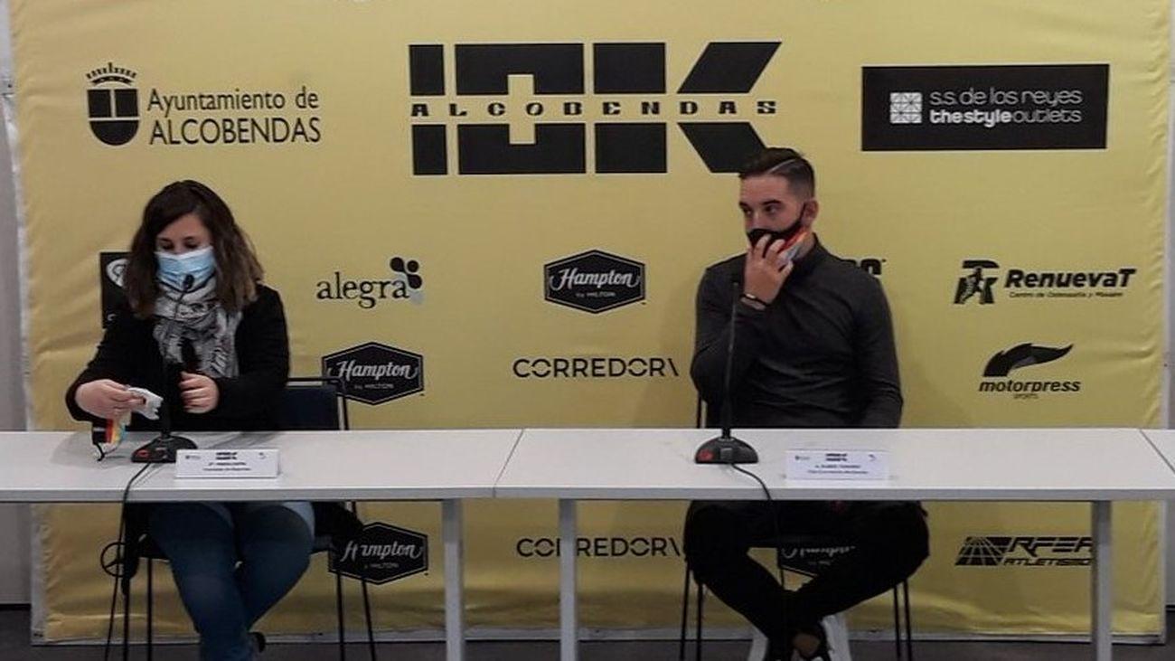 Presentaión de los 10k de Alcobendas