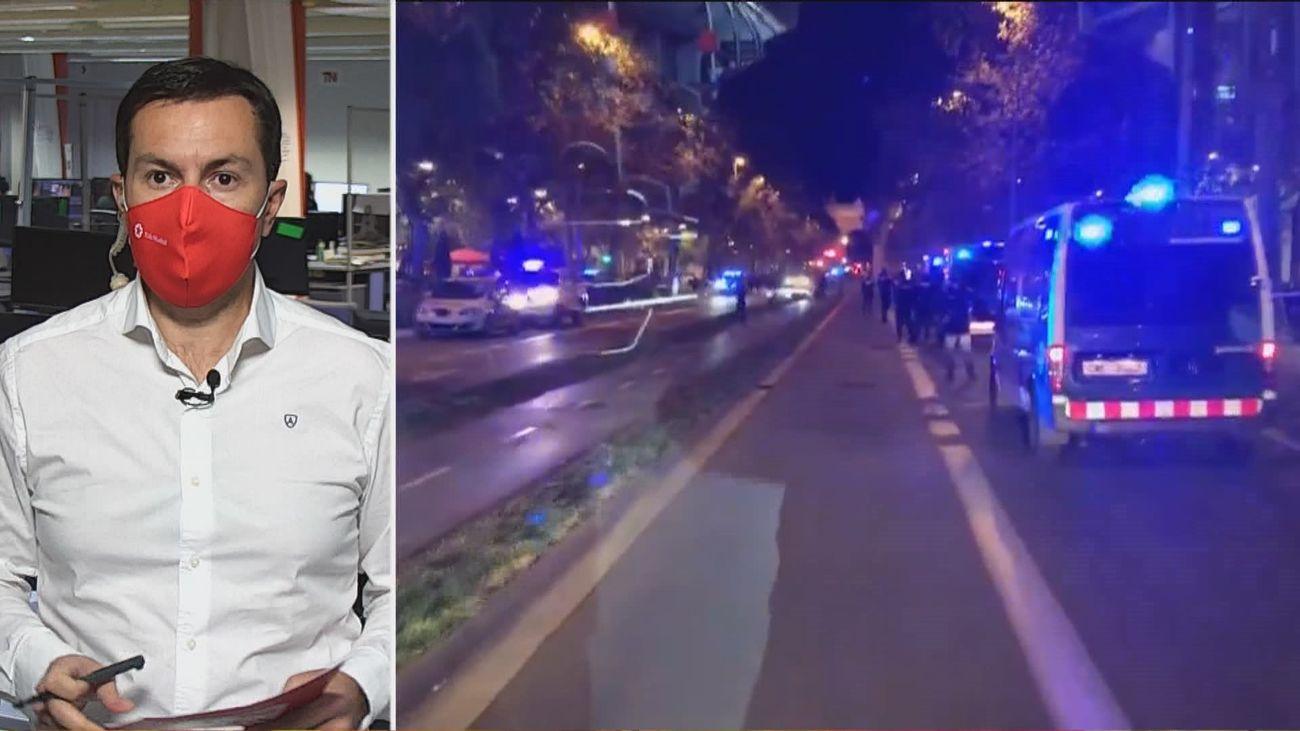 La Guardia Urbana de Barcelona dispara al presunto agresor de unos agentes