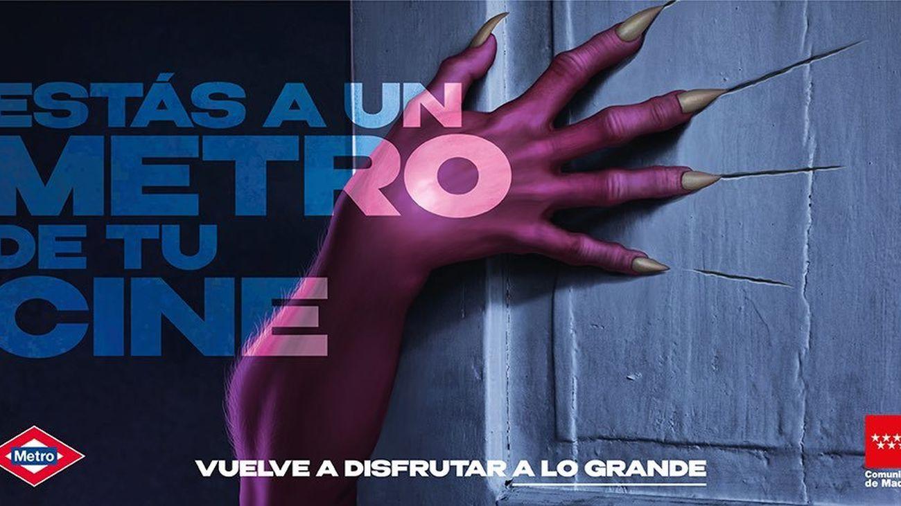 """""""A un Metro de tu cine"""", una campaña de apoyo al sector audiovisual"""
