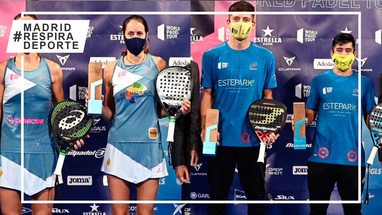 Campeones del torneo de pádel de Las Rozas