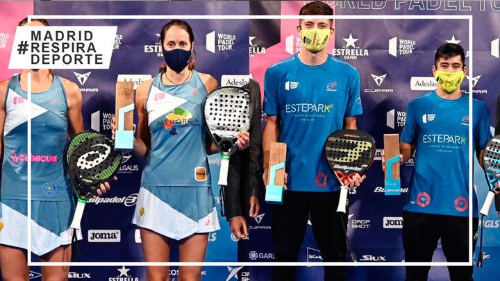Sainz-Triay y Tello-Chingotto ganan el Cupra Las Rozas Open
