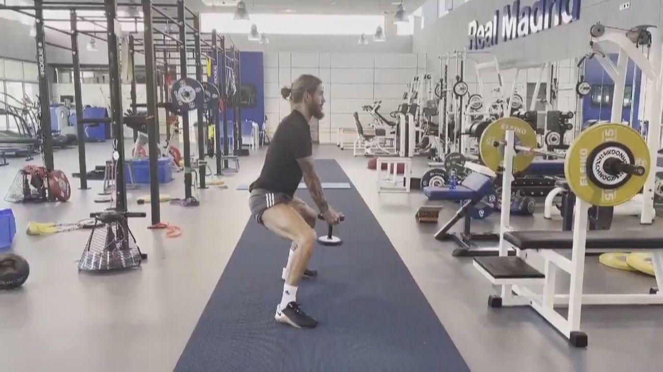 Así se recupera Sergio Ramos