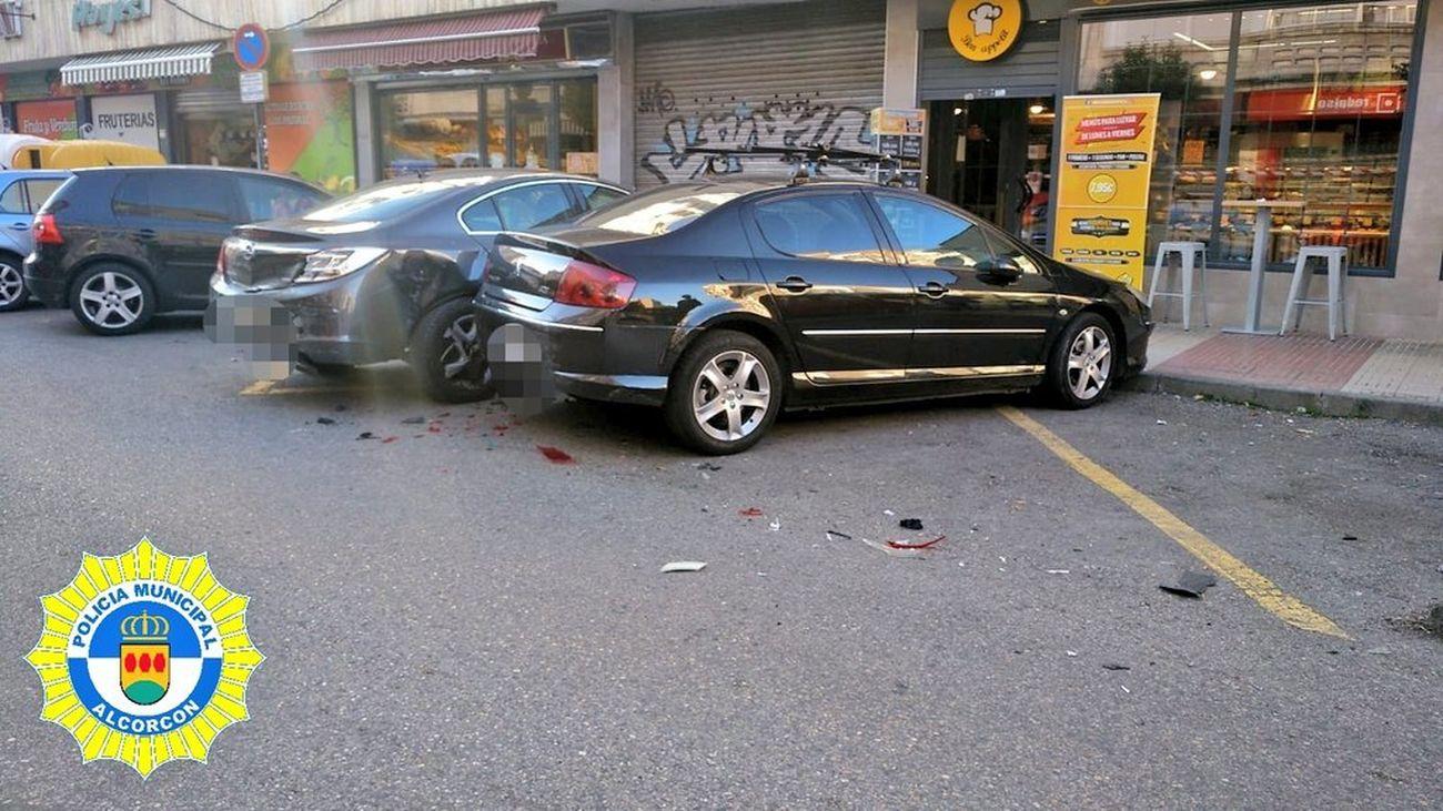 Accidente Alcorcón