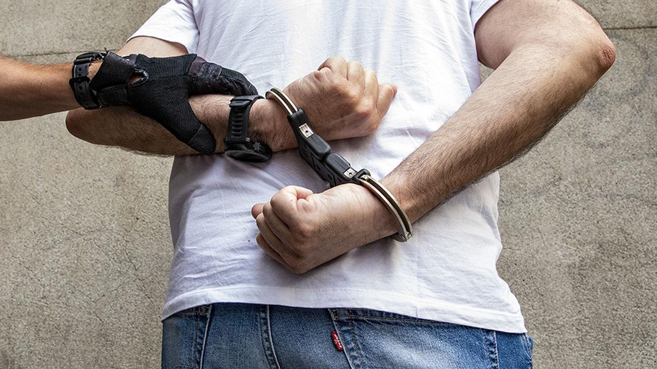 Detenido por la Policía Municipal de Madrid