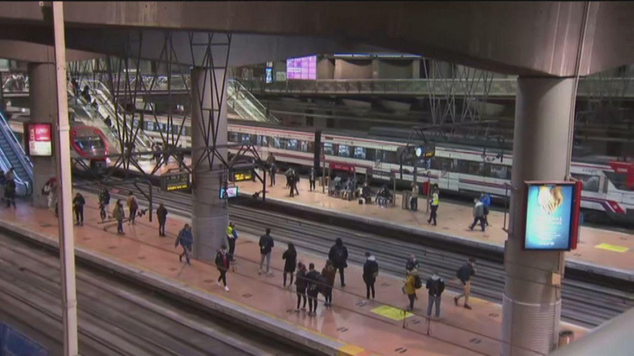 Una avería en la estación de Atocha provoca retrasos en varias líneas de Cercanías