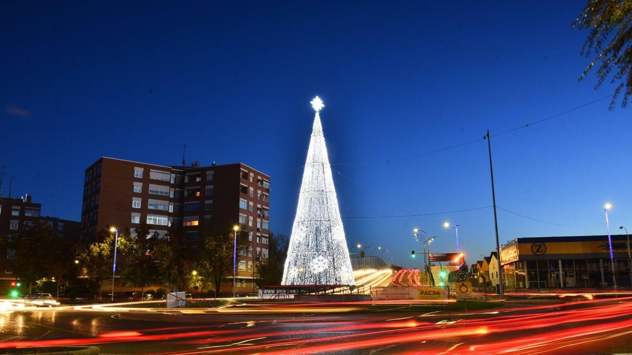 ((NO PUBLICAR)) ¿Cuándo encienden las Luces de Navidad los municipios madrileños?