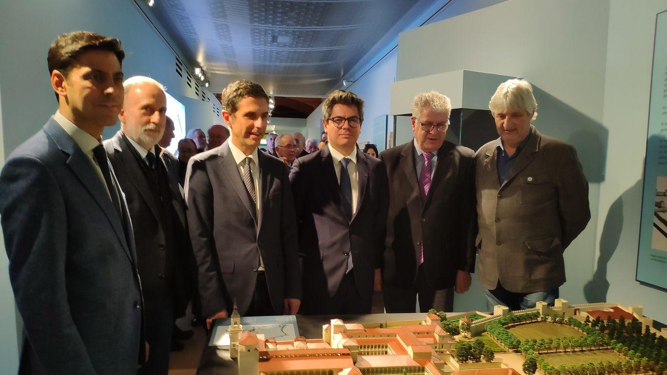 Presentación de la maqueta del Palacio Arzobispal de Alcalá y su entorno