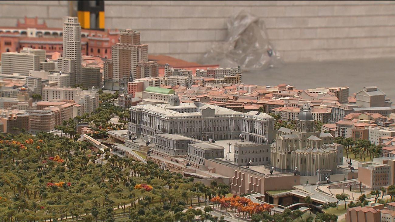 En busca de nueva ubicación para tres grandes maquetas 'olvidadas' de Madrid