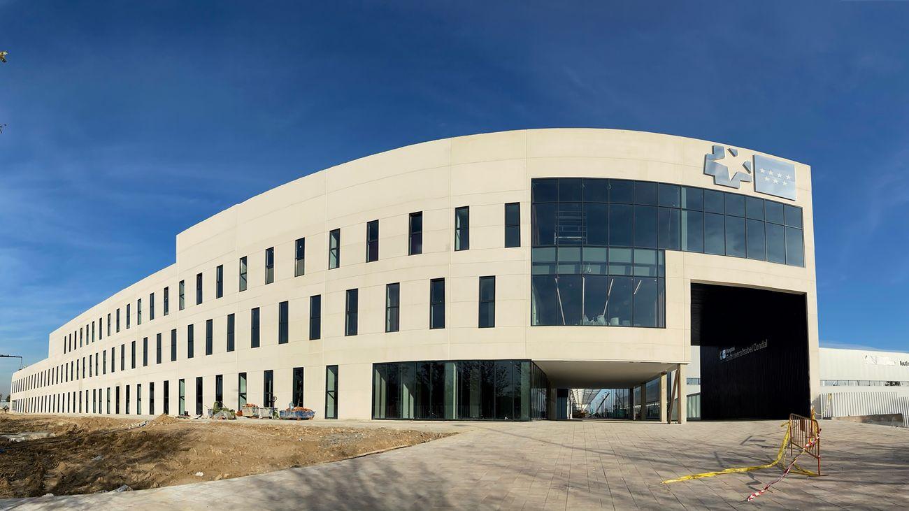 El Hospital Isabel Zendal pone el 1 de diciembre fin a 4 meses de construcción en tiempo récord