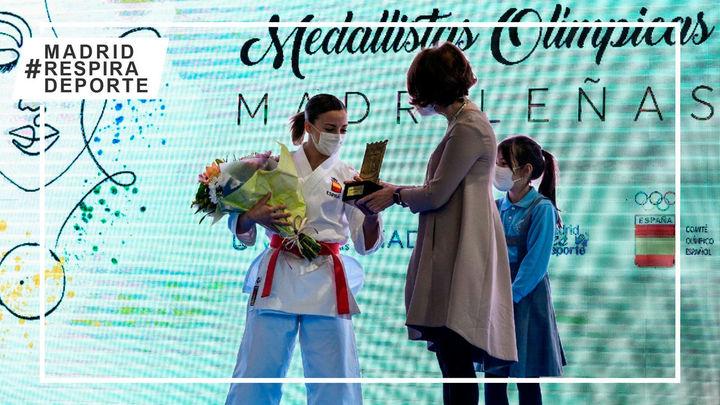 Madrid homenajea a sus 18 mujeres medallistas olímpicas