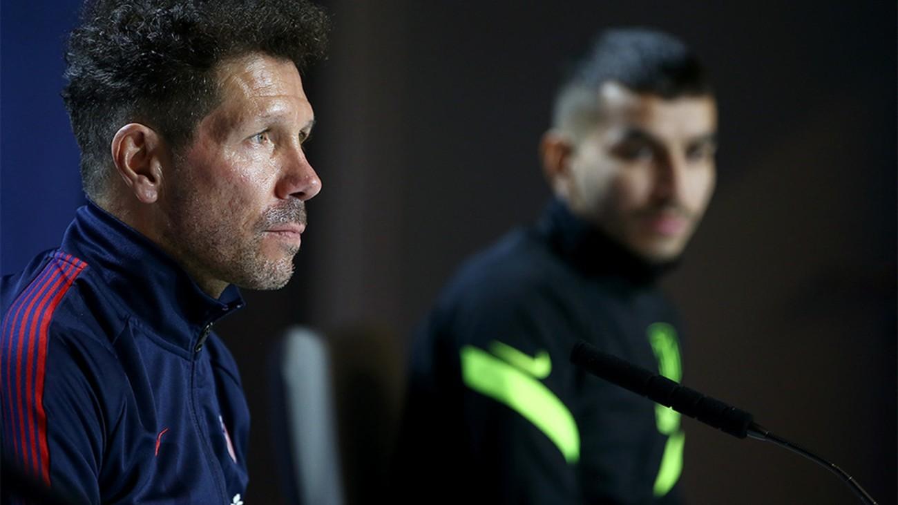 """Simeone: """"El único objetivo que me interesa es ganar"""""""