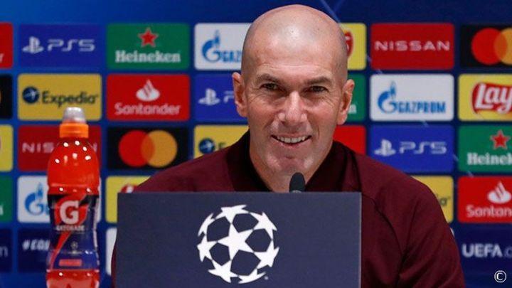 """Zidane: """"El partido ante el Inter es importante, pero no de riesgo"""""""